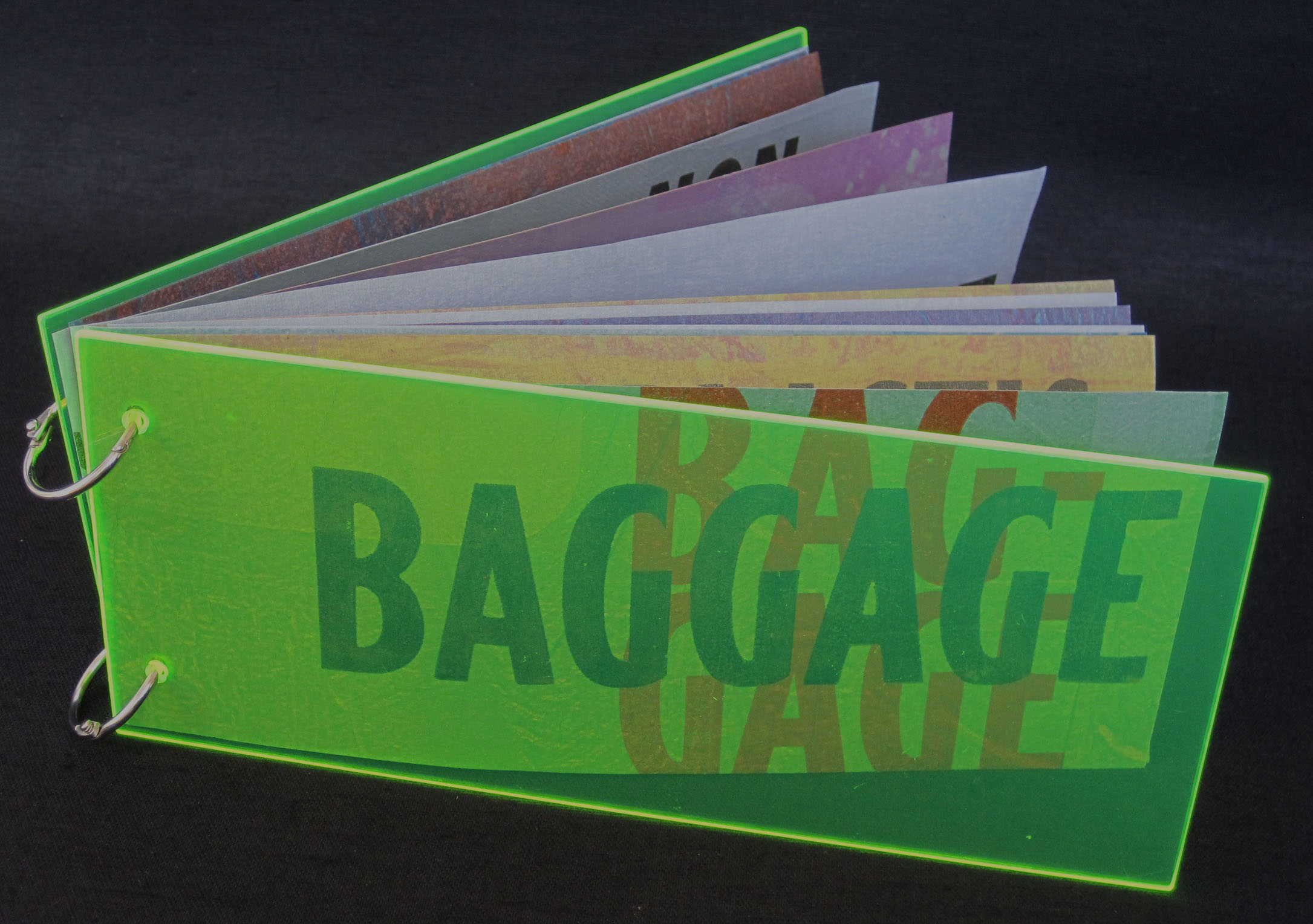 Bagage: plastic book edition